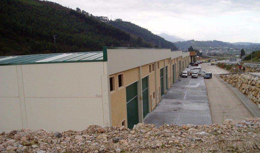 Construcción del Polígono Industrial Pesués