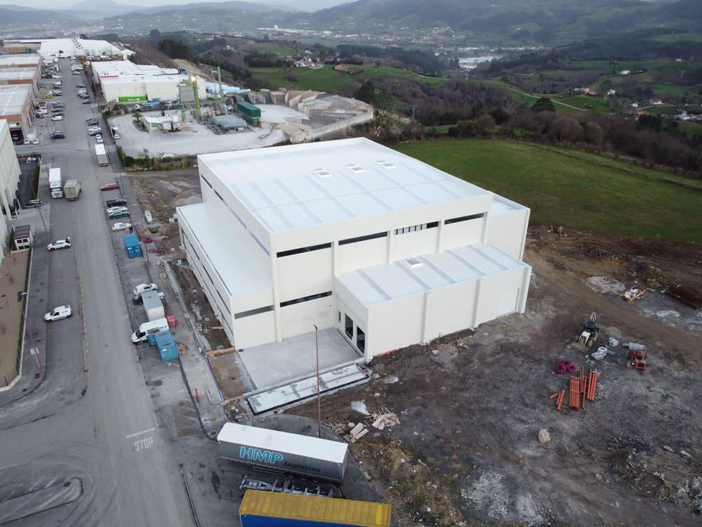 Construcción de Naves FormasPack Fase 2º